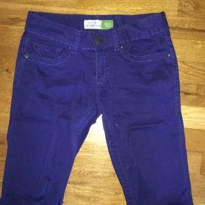 AERO purple jeans NWOT